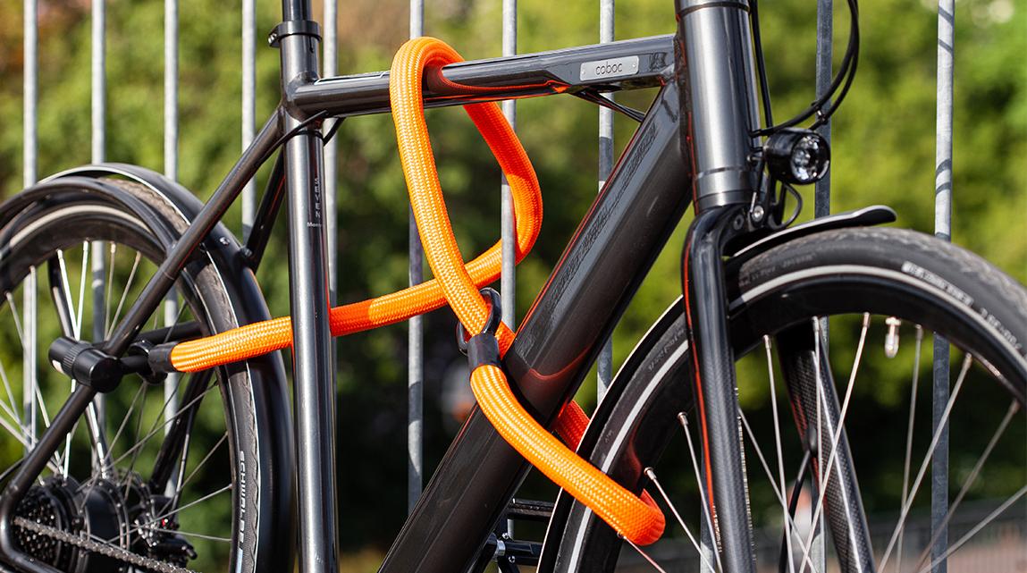 Fahrrad Texlock orange
