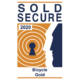Sold Secure Logo Bicycle Gold