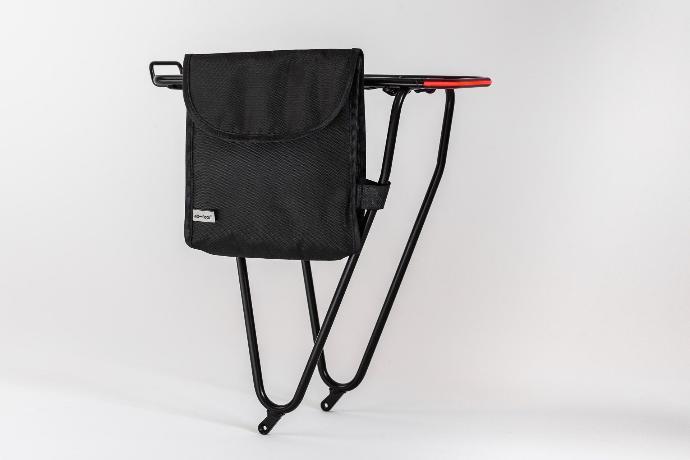 tex-lock Tasche für eyelet und mate am Gepäckträger