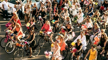 Fancy Women Bike Ride Veranstaltung