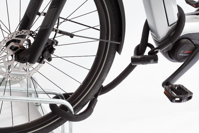 tex-lock eyelet sicher das E-bike abschließen