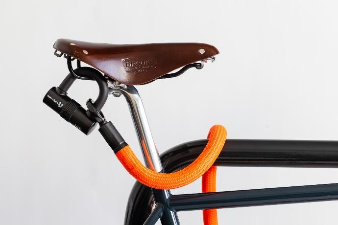 tex-lock eyelet sicher das Fahrrad abschließen